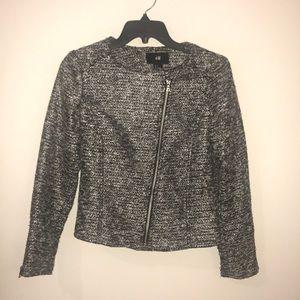 H&M | Black & Silver Blazer Jacket